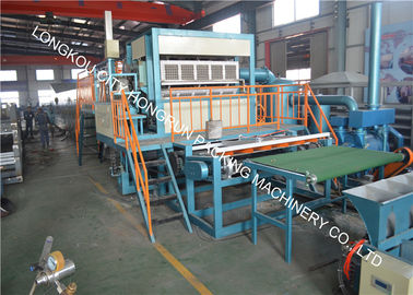 4 Side & 4 Mould Pulp Egg Tray Machine With Single Metal Drying Line