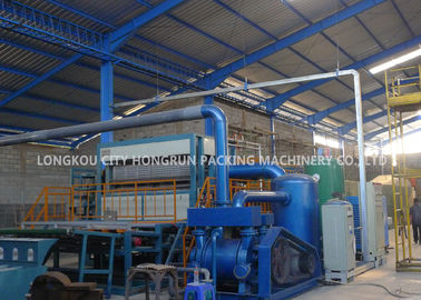 High Efficient Egg Carton Making Machine Short Install Time 1 Year Warranty
