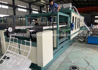 Automatic PS foam Disabled food container vacuum forming machine