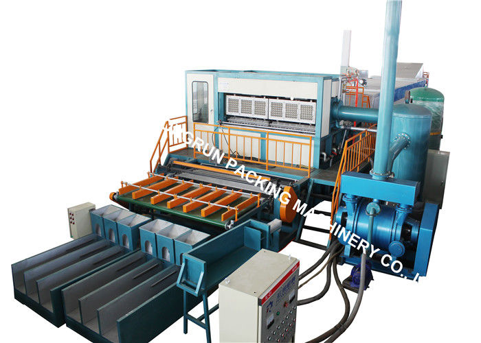 Wast Paper Pulp Molding Machine For Egg Box / Egg Tray / Apply Tray