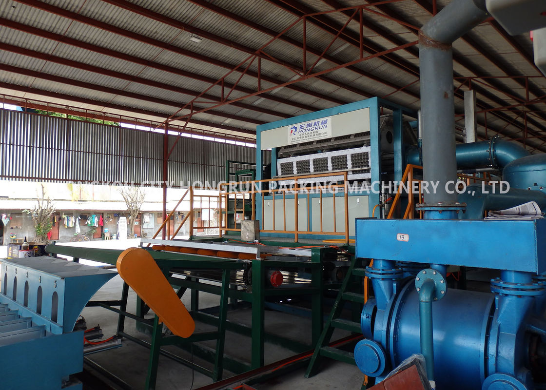 Automatic Paper Egg Carton Making Machine With Drying System Fast Speed