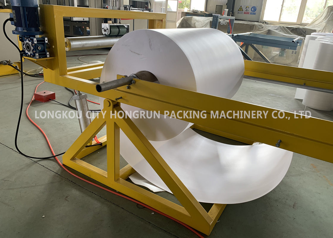 Food Packaging Plastic Container Production Line , automatic PS foam plate making machine